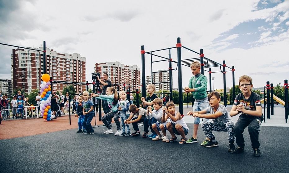 В соревнованиях, которые проходили в Екатеринбурге на базе воркаут-парка Русской медной компании