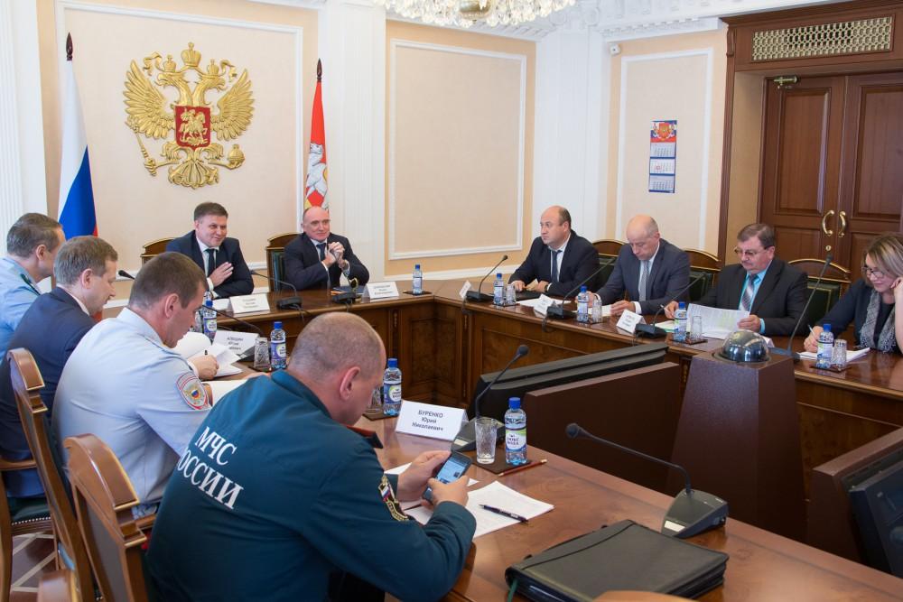 О готовности региона губернатор отчитался в ходе видеоконференции, которая прошла под председател