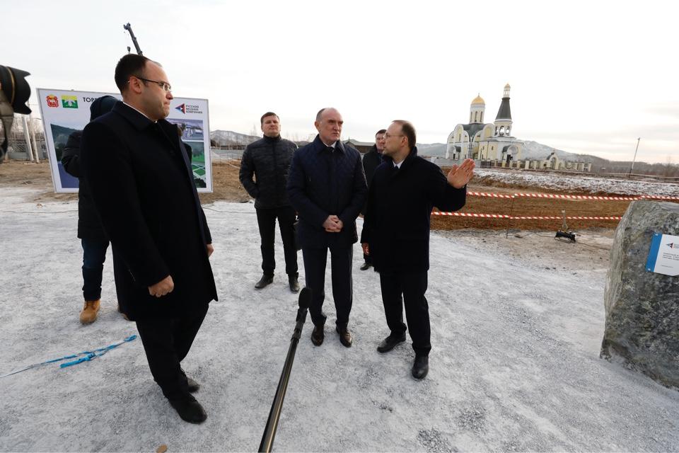 Как сообщили в пресс-службе РМК, торгово-развлекательный центр в Карабаше будет возведен на месте