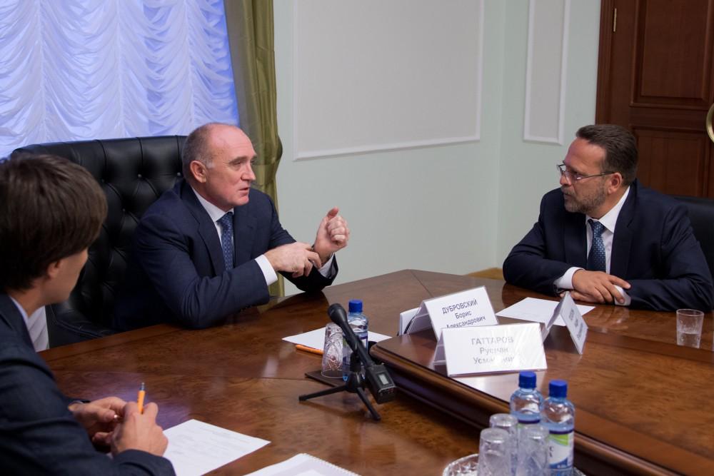 Эту тему губернатор Челябинской области Борис Дубровский обсудил на встрече с начальником управле