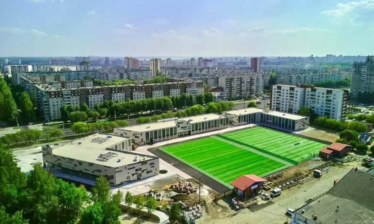 Жители северо-запада Челябинска получили новый современный спортивный объект – площадку для занят
