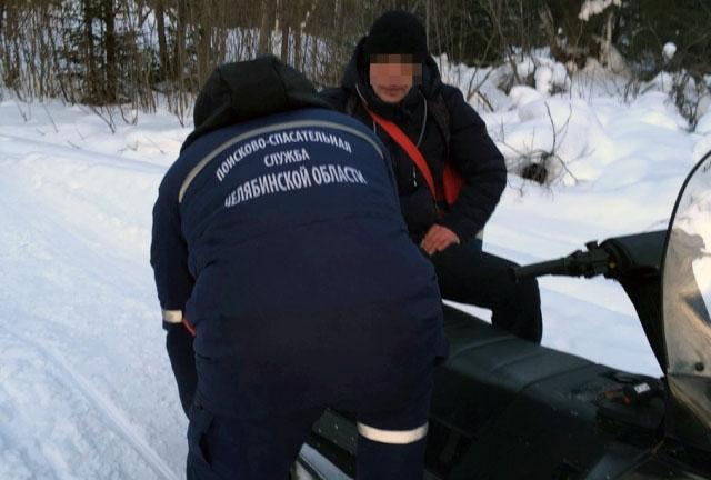 Получив сообщение от неравнодушного очевидца, магнитогорские спасатели прибыли на место и при пом