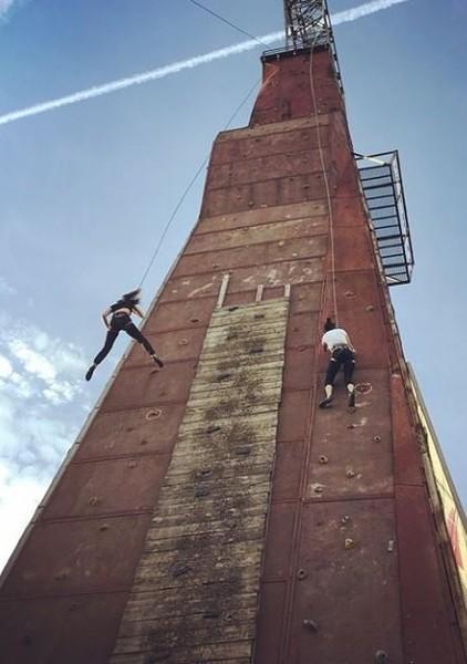 Скалодром «Вышка» в Магнитогорске (Челябинская область) занял первое место в рейтинге самых высок