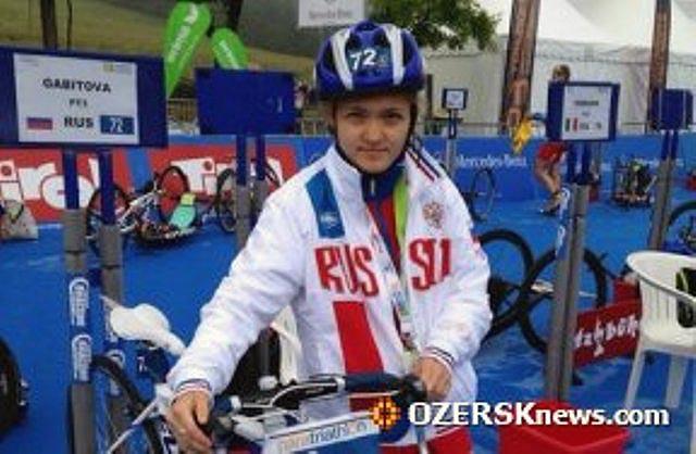 На сей раз девушка стала бронзовой призерской II этапа Мировой серии по паратлиатлону. В турнире