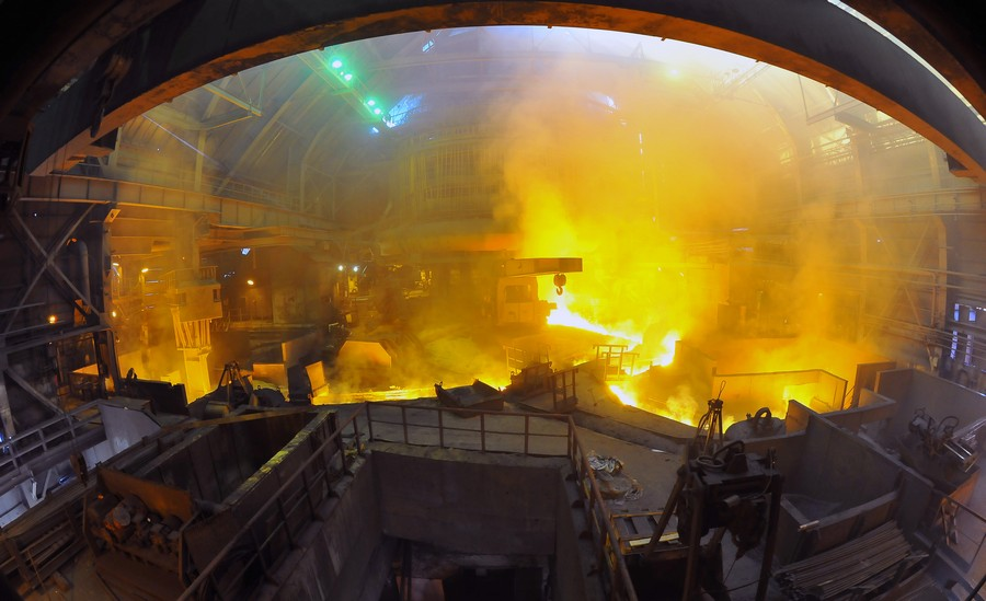 Специалисты ЦТА ОАО «РЖД» ознакомились с организацией производства рельсов на ЧМК, составом обору
