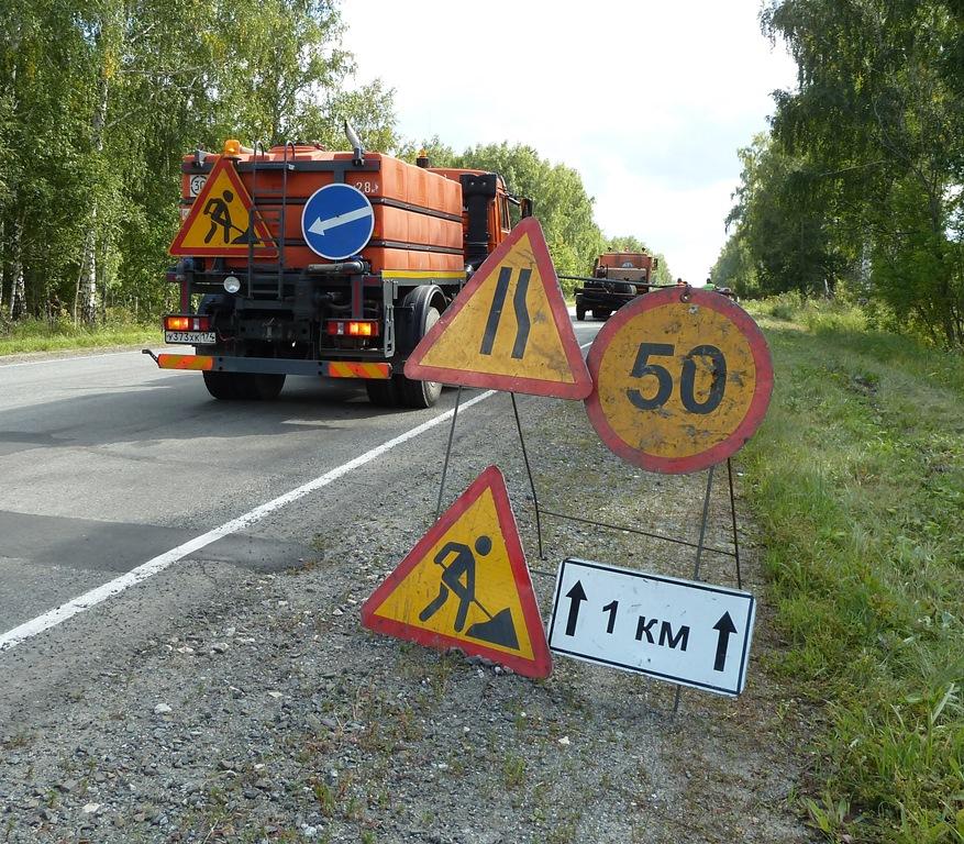 В Челябинской области проводят дорожный эксперимент – на участок автодороги «Вахрушево - Долгодер