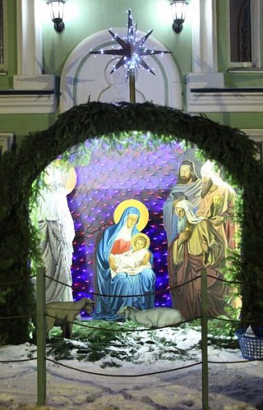 В ночь с 6 на 7 января 2020 года, в праздник Рождества Господа Бога и Спаса нашего Иисуса Христа,