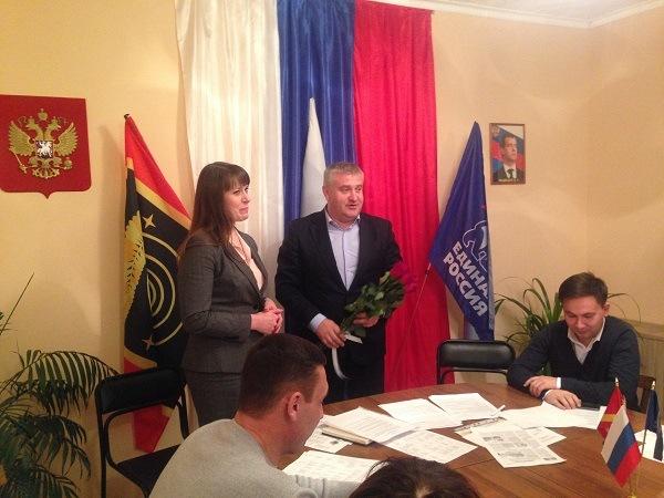 Глава Коркинского муниципального района (Челябинская область), бывший эсер Наталья Лощинина вступ