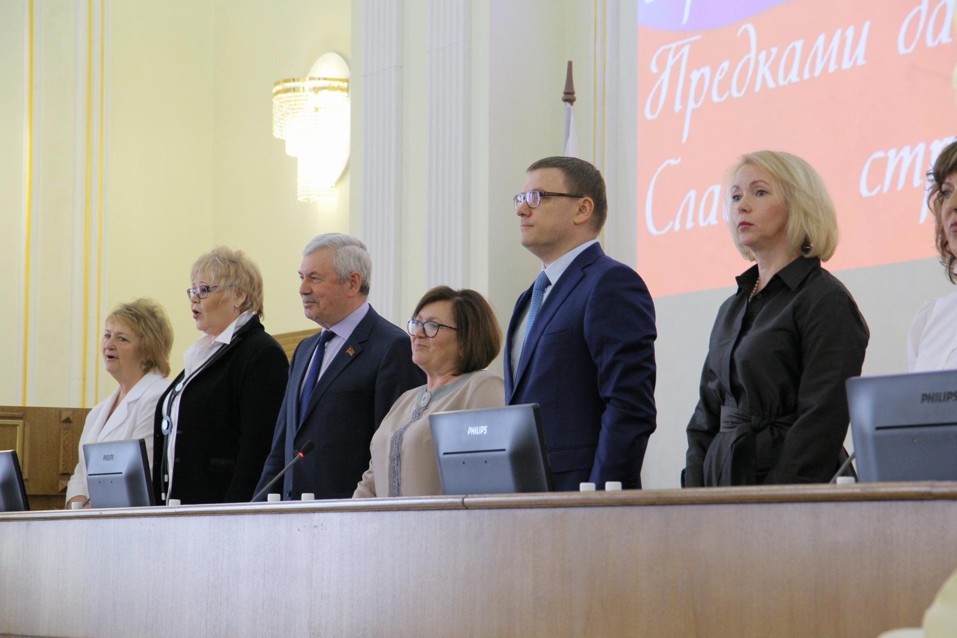 Председатель Законодательного СобранияЧелябинской области Владимир Мякуши врио