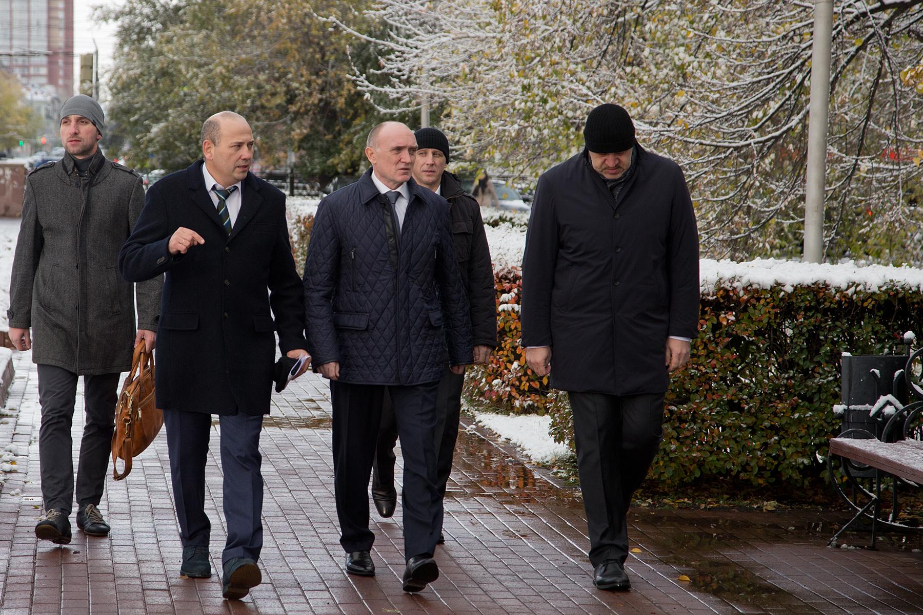 Губернатор Челябинской области Борис Дубровский осмотрел ряд объектов, на которых в настоящее вре