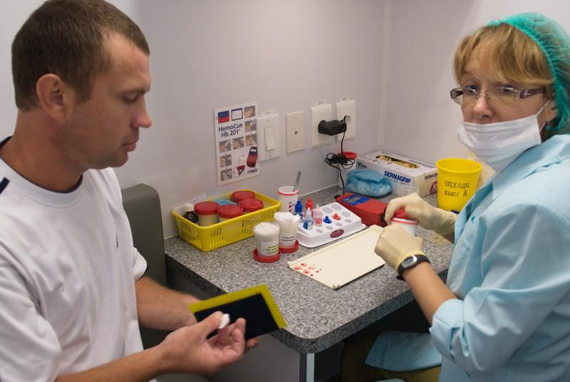 В добровольной акции по сдаче крови примут участие тренеры, спортсмены, сотрудники областных спор