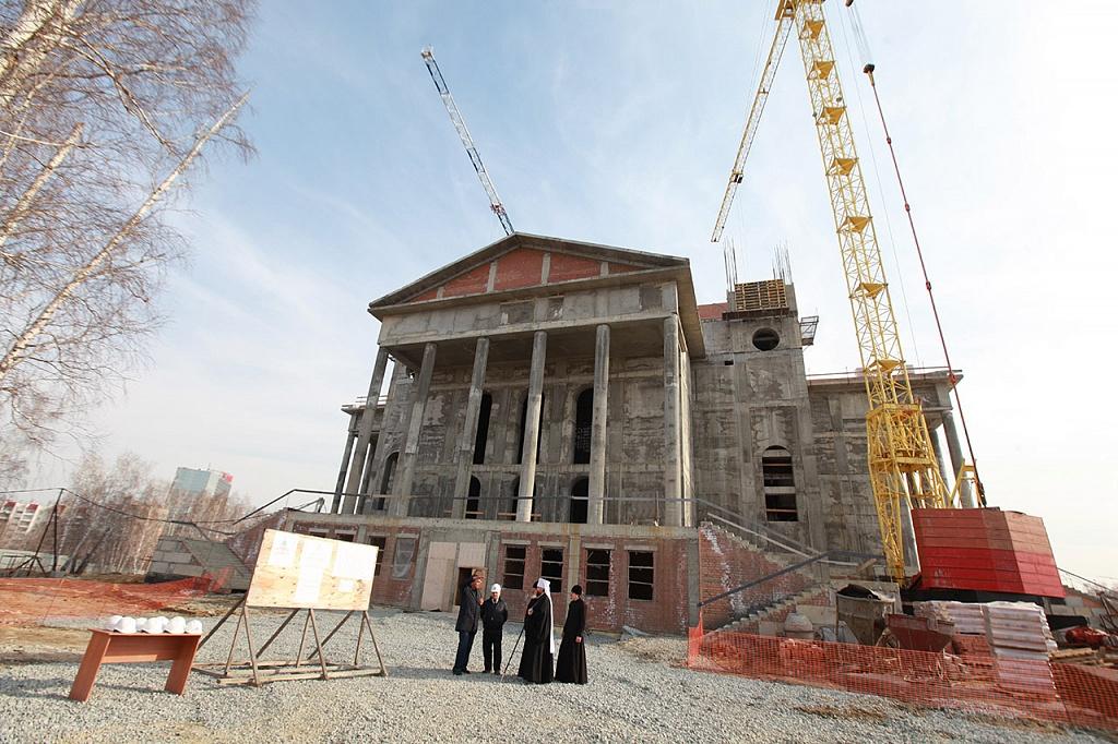 Меценаты и благотворители готовы профинансировать строительство кафедрального собора Рождества Хр