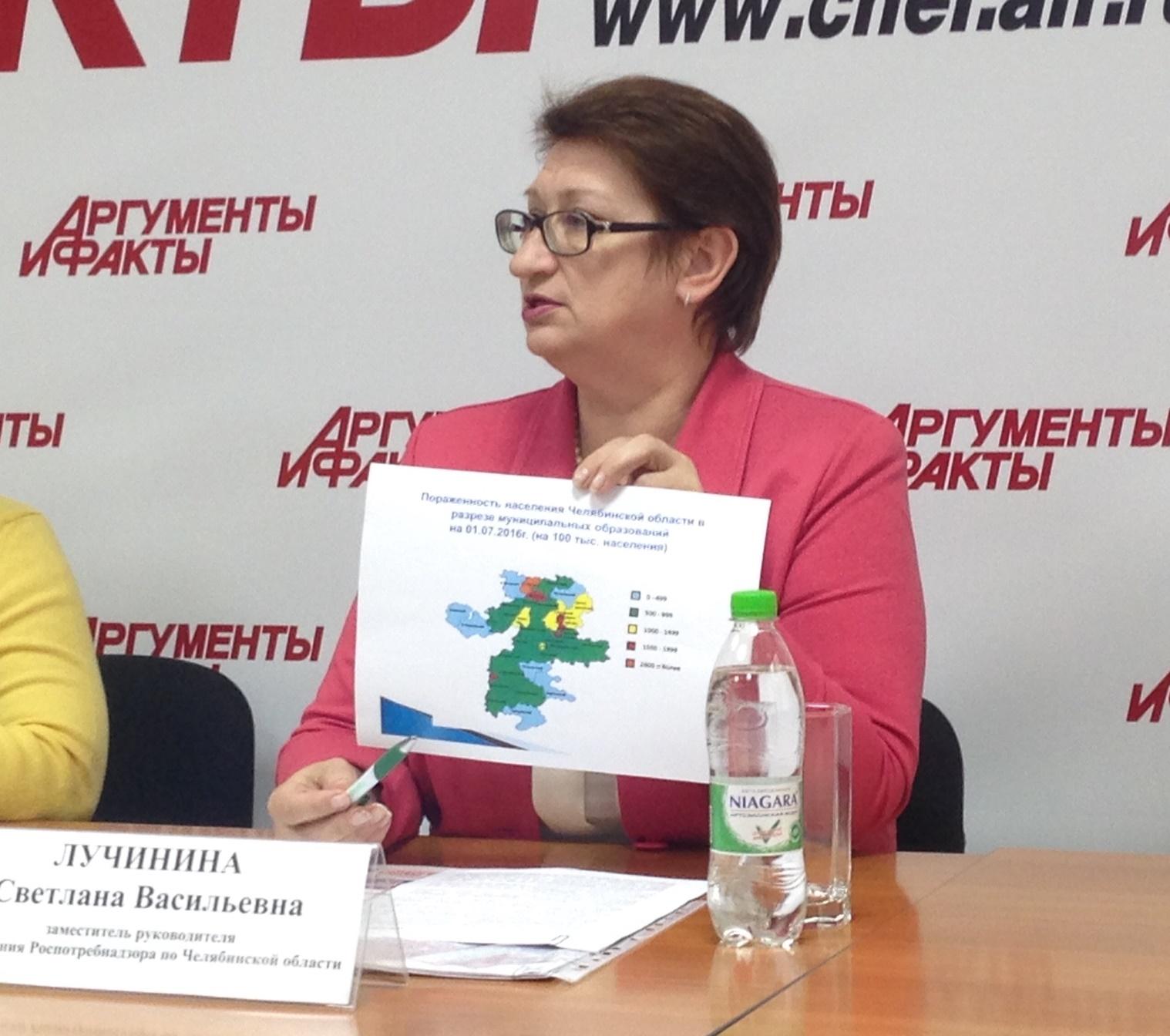 Как рассказала замруководителя Управления Роспотрбнадзора Челябинской области Светлана Лучинина,