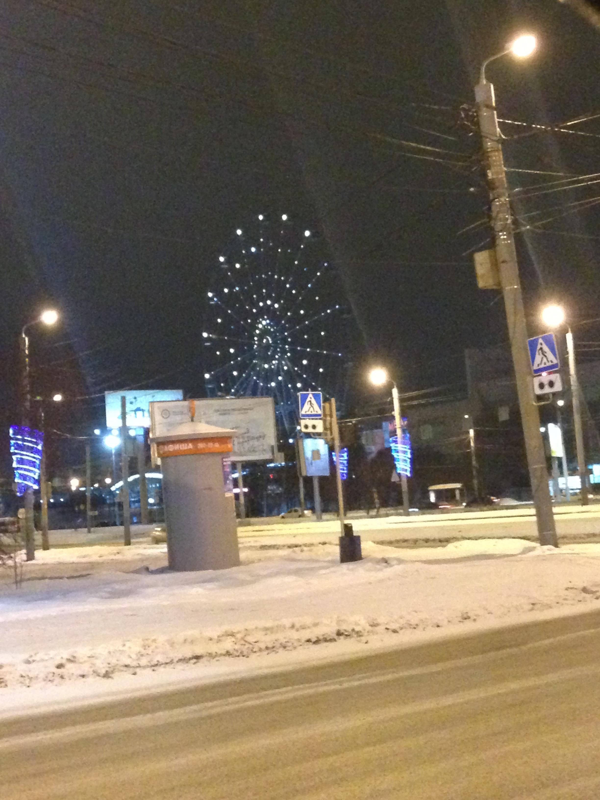 Как стало известно теперь, 73-метровое колесо обозрения в центре Челябинска начнет свою работу по
