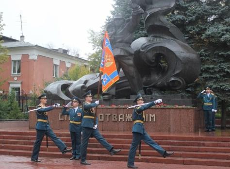 Как сообщили в пресс-службе ГУ МЧС области, открытие монумента «Слава отважным», посвящённого огн