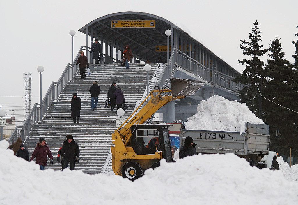 «В этом году у нас частые снегопады и достаточное количество снежного покрова. Мы оперативно