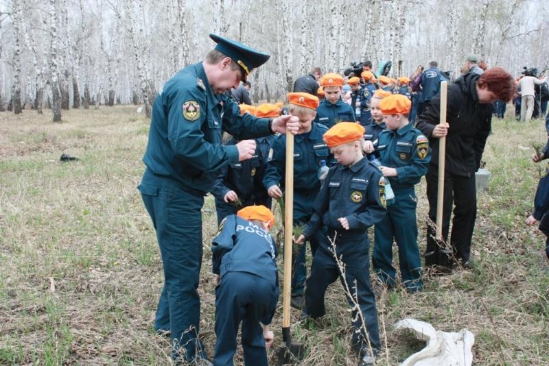 Данное мероприятие прошло при поддержке главного управления МЧС России по Челябинской области и г