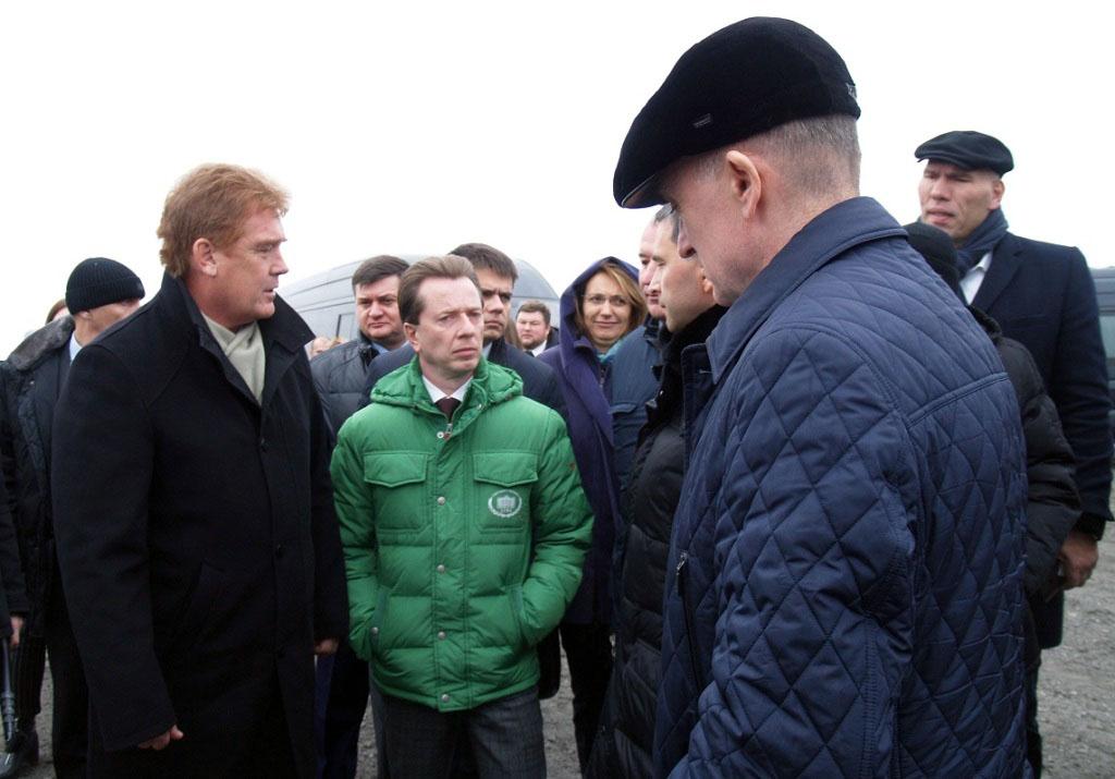 Претендент на пост врио главы Челябинского городского округа Владимир Елистратов, пока еще официа