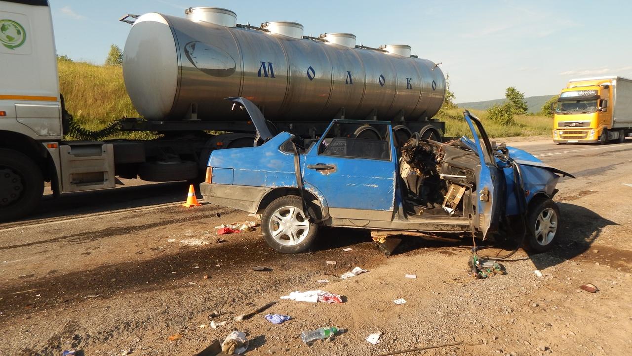 Девять человек пострадали в серьезном дорожно-транспортном происшествии на федеральной трассе М-5