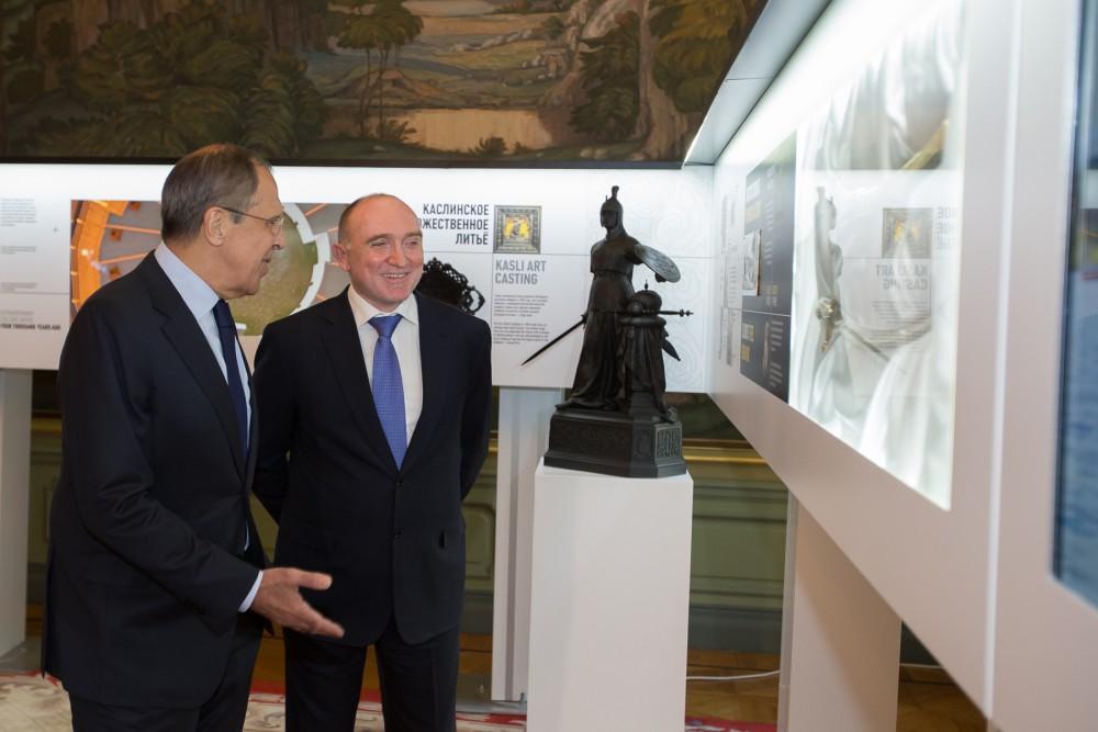 «По словам Сергея Викторовича Лаврова, выставка Челябинской области стала лучшей, как он выразилс