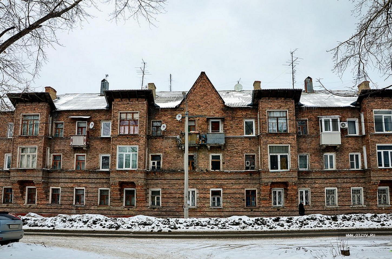 Квартал домов в Металлургическом районе Челябинска, который называют «немецким кварталом» и «мале