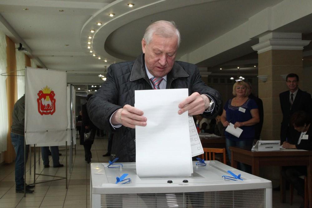 «Только что я проголосовал за будущее России и Челябинска в частности, за стабильность и тех,