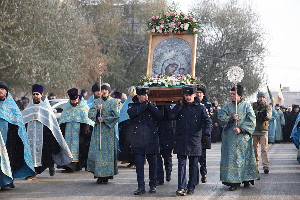 Как сообщи агентству в Челябинской епархии, утром по случаю праздника во всех храмах состоялись т
