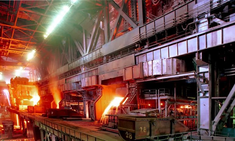 Листопрокатный цех №4 Магнитогорского металлургического комбината (Челябинская область) вчера, 27