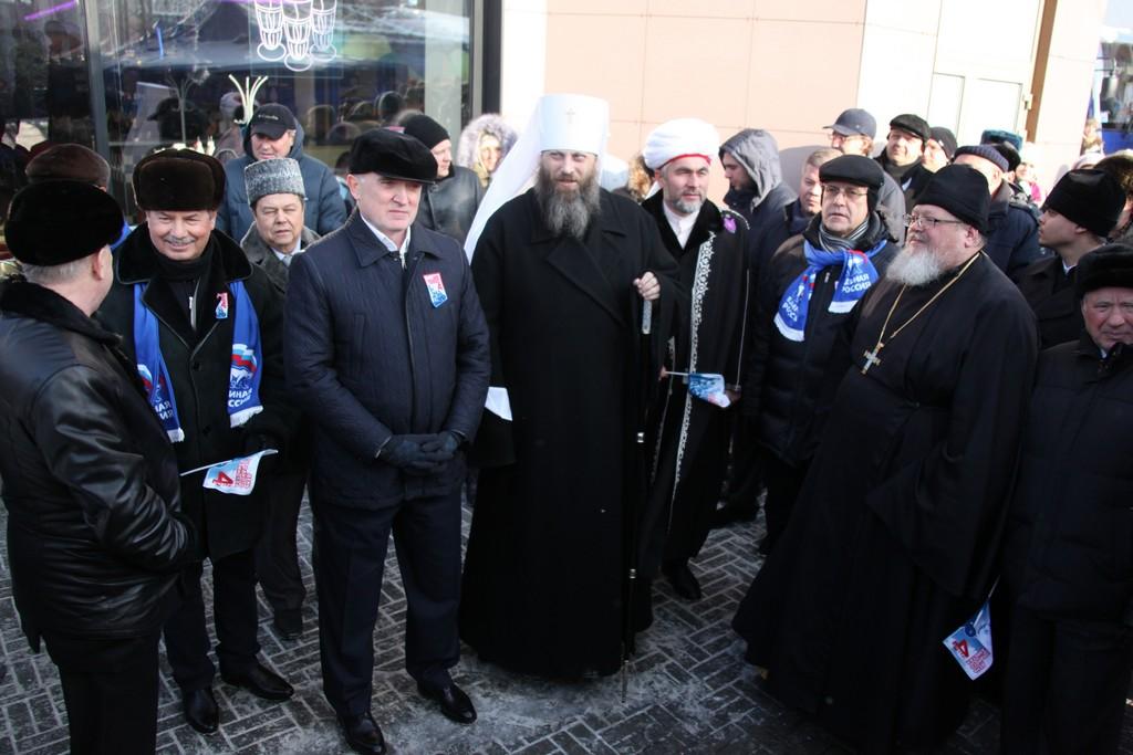 Губернатор Челябинской области Борис Дубровский, председатель Законодательного С