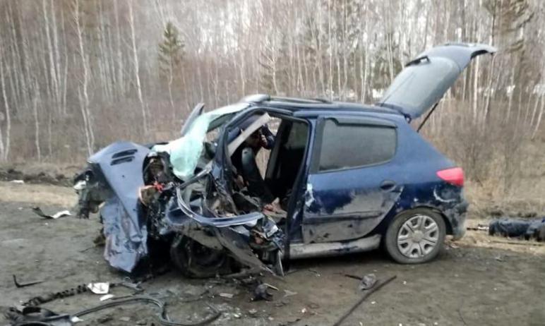 На трассе в Челябинской области произошло ДТП со смертельным исходом. Оба водителя погибли на мес