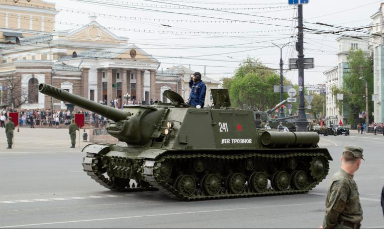 Парад Победы Челябинск 9 мая 2021