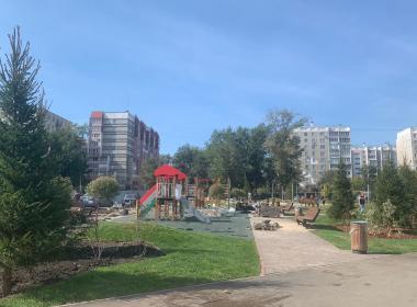 Ко  Дню города сквер на улице Цвиллинга в Челябинске справит новоселье