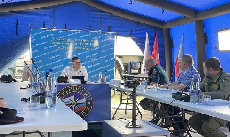 Губернатор Челябинской области Алексей Текслер назвал размер материальной помощи пострадавшим от