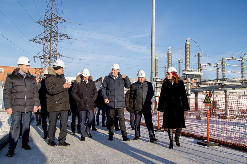 В торжественной церемонии пуска энергообъекта приняли участие: заместитель Губернатора Челябинско