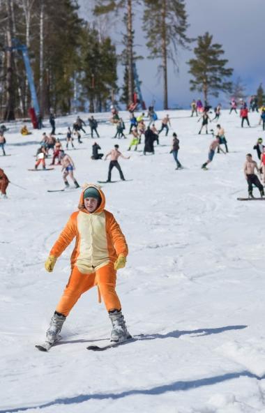 Горнолыжный курорт «Солнечная долина» успешно начал 2020 год, успев принять порядка 50000 ч