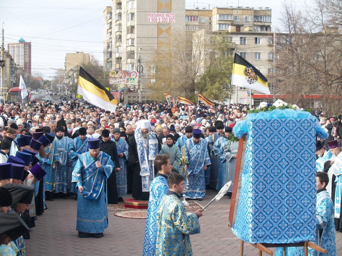 В челябинском мегаполисе православные отметили праздник День единства иКазанской иконы Божией Ма