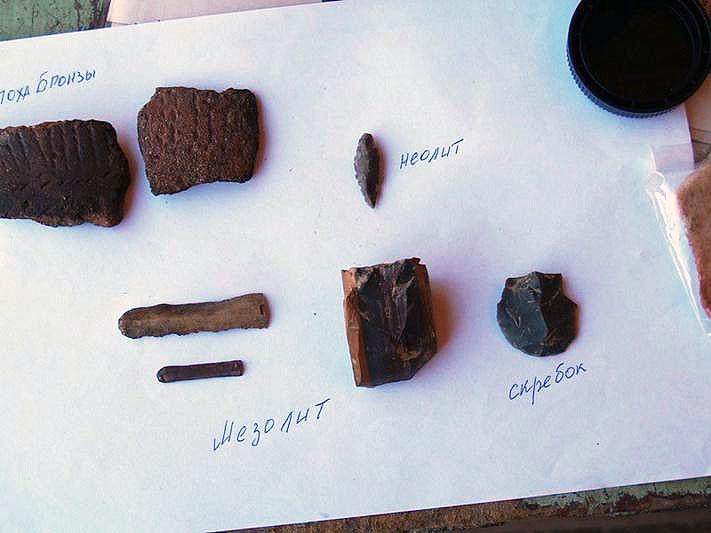 Чебаркуль III- поселения позднего бронзового века. В ходе пятилетних археологических практик студ