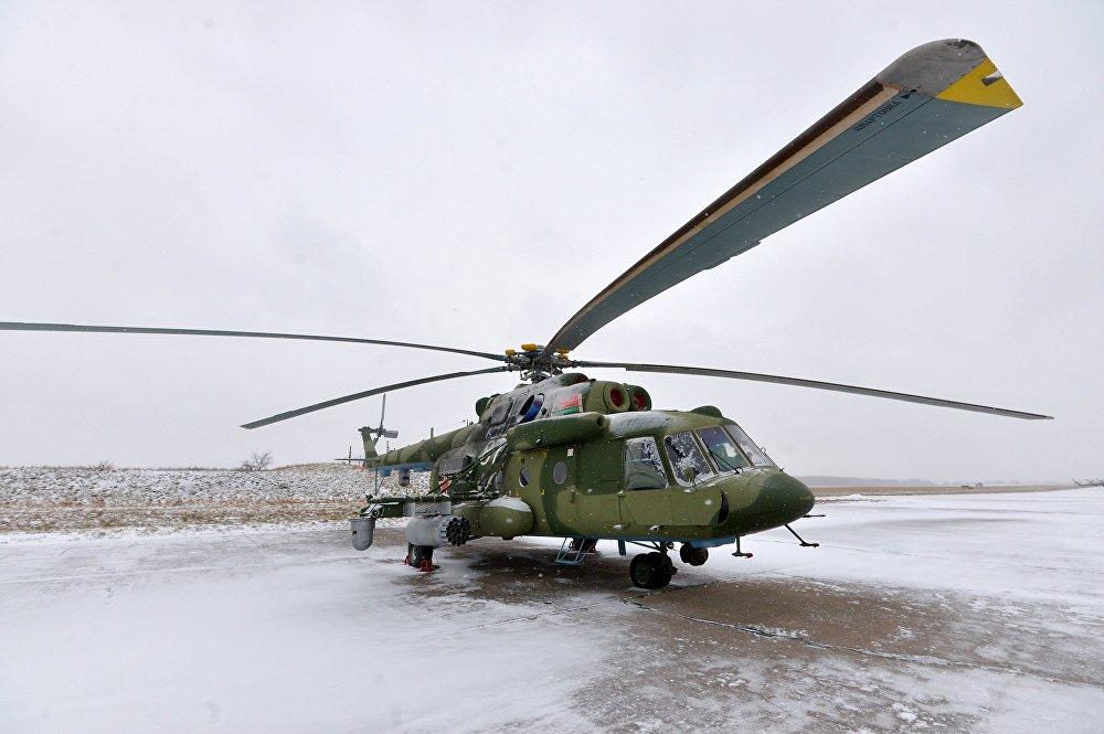 В Челябинскую область в ближайшее время перебросят восемь военно-транспортных вертолетов Ми-8МТВ-