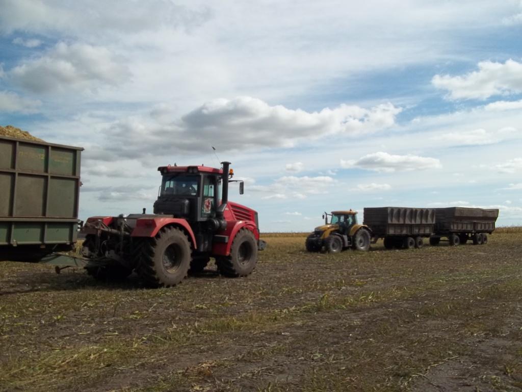 По пути на поля сельхозпредприятия Коелгинское, что в Еткульском районе Челябинской обла