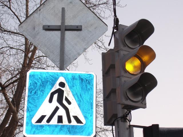 Авария произошла сегодня, 21 ноября, на перекрестке улиц Блюхера и Доватора. «Авария произ