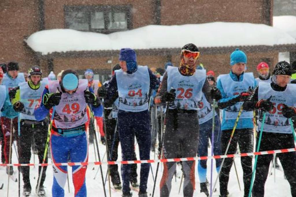 В национальном парке «Таганай» (Златоуст, Челябинская область) состоялся традиционный лыжный мара