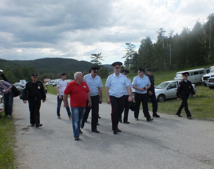 Как сообщили агентству в пресс-службе областного полицейского главка, Андрей Сергеев прибыл на Ил