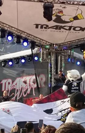 Челябинский хоккейный клуб «Трактор» открыл новый хоккейный сезон в КХЛ грандиозным фестивалем «T