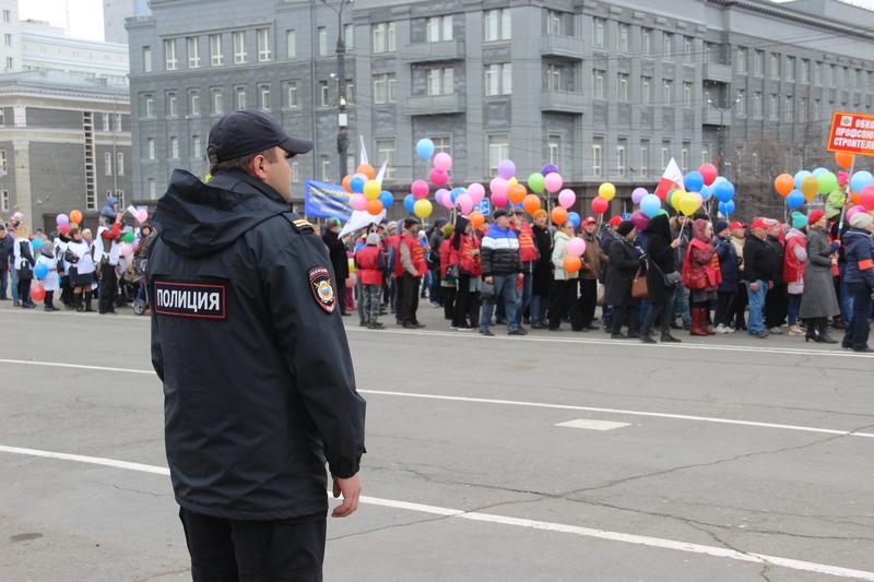 Полицейские Челябинска обеспечили охрану общественного порядка при проведении массовых мероприяти