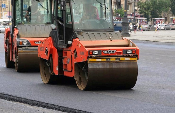 «В связи с продолжением работ по укладке дорожного покрытия на улице Гагарина от Копейского шоссе