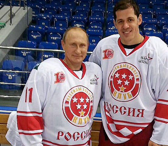 Нападающий сборной России и клуба Национальной хоккейной лиги (НХЛ) «Питтсбург» Евгений Малкин об