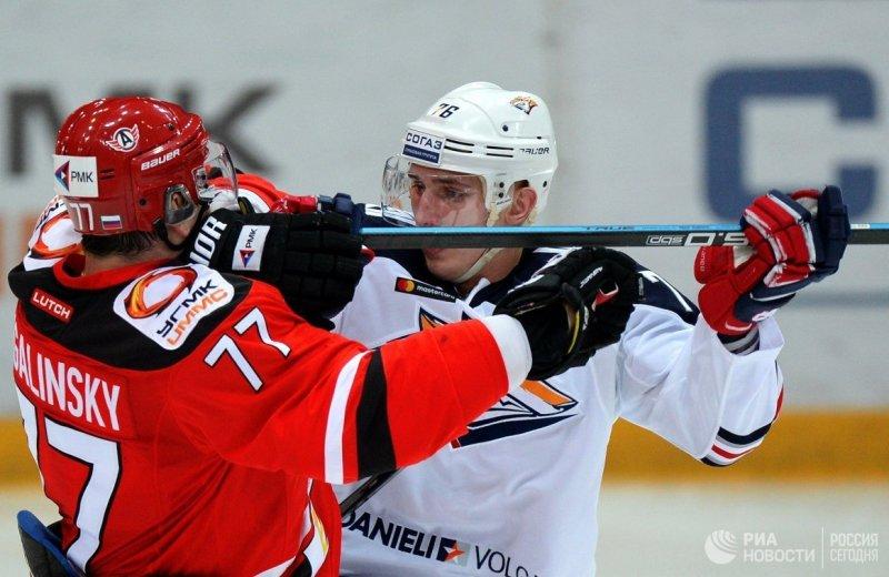 Как и в первом матче первого раунда, плей-офф магнитогорский «Металлург» проигрывал екаберинбуржс
