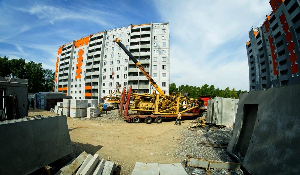 Строительство трех десятиэтажек в Бакале называют «стройкой века», так