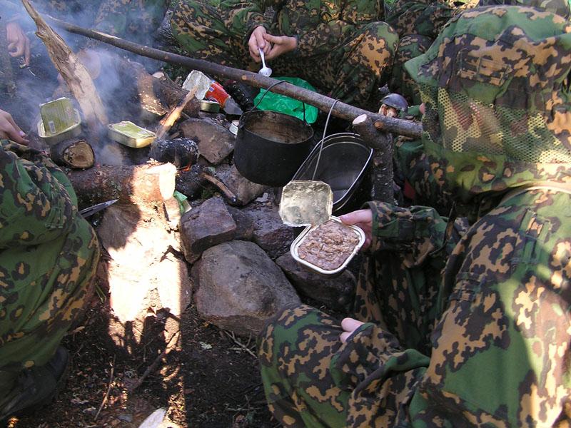 Бойцы челябинского военно-патриотического молодежного объединения «Воин» - школы резерва спецподр