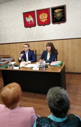 Глава Челябинской области Алексей Текслер сегодня, восьмого августа, посетивший с рабочим визитом